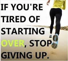 Fitness Meme of the Week: Stop Giving Up | The Every 48 Workout Blog via Relatably.com