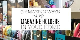 Magazine Holder Uses 100 Amazing ways to use magazine holders as storage in your home 57