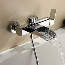 faucet for bathtub with handheld shower. features: faucet for bathtub with handheld shower e