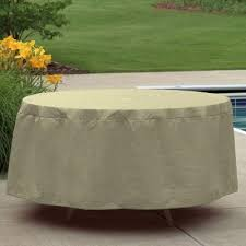 amazing round outdoor furniture covers round outdoor patio table cover for 48 to 54 inch tables pc1154