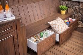 smart outdoor storage furniture ideas
