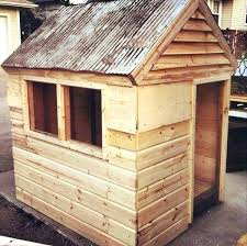easy to build playhouse plans free from pallets things for