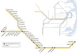 north shore, northern & western line wikipedia Northern Train Line Map main western and richmond lines[edit] northern train line map