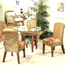 rattan dining room set rattan dining table and chair set rattan dining room chairs