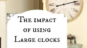 clock wall decor attractive ideas clock wall decor plus the impact of using large clocks in