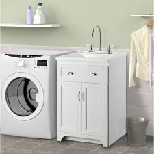 24 Inch Sink Cabinet Foremost Keats 24 In Laundry Vanity In White And Abs Sink In