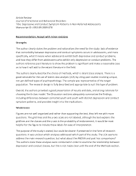 Example Of A Journal Article Review Apa Style Examples Of Apa