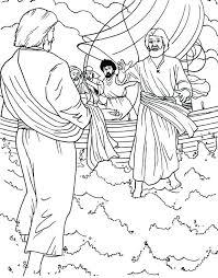 jesus walks on water coloring page. Simple Page Jesus Walks On Water Coloring Page Peter   Intended Jesus Walks On Water Coloring Page