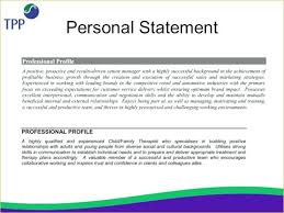 Personal Statement For Resume Personal Summary On Cv Examples Statement Resume For Job Objectives