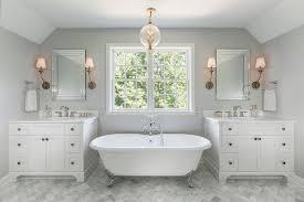 minneapolis carrara marble subway tiles with white soaking bathtubs bathroom traditional and freestanding bath bathtub