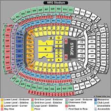 Reliant Arena Houston Seating Chart Reliant Stadium Seating Chart With Rows Bedowntowndaytona Com