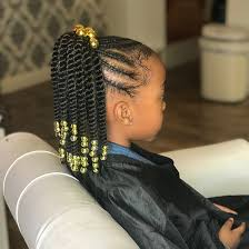 super cute protective styles for kids