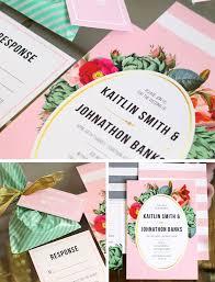146 best hot wedding trends images on pinterest wedding trends Wedding Invitation Maker In San Pedro Laguna floral stripes wedding invitations by day dream prints