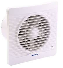 vent axia sil150x kitchen extractor fan d 147mm