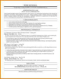 Law School Resume 100 Legal Resume Examples Assistant Cover Letter Law School 65
