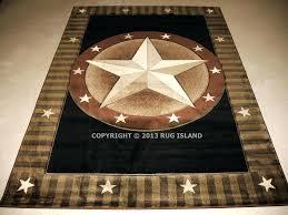 texas star rug 2 7 x 6 runner designer star texas star rugs texas star rug