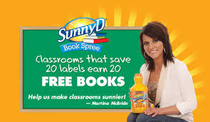 sunny d book spree