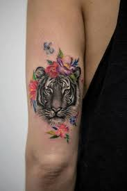 Pin Di Kia Su Tattoo Tatuajes De Animales Tatuaje De Tigre E