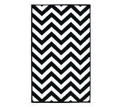 black and white rug runner