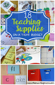 18 Teaching Supplies On A Shoestring Budget