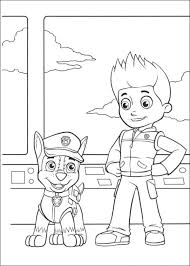 Chase Paw Patrol Coloring Pages Get Coloring Pages