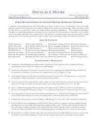 Hr Director Resume Resume Templates
