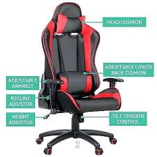racing seat office chair uk. desk: executive gaming office chair racing computer pu leather mesh seat work racer dxracer uk