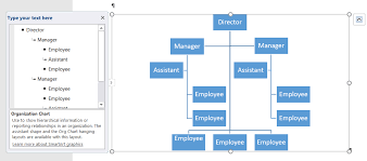 How To Do An Org Chart In Word How To Create An Organization Chart Using Smartart In Word