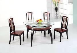 dining table design with round glass top round glass top dining table dining room round glass dining table design with round glass top