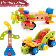 for wooden building toys 78 piece for 3 year old boys stem toys for 3 4 5 year old boy gifts at whole on crov
