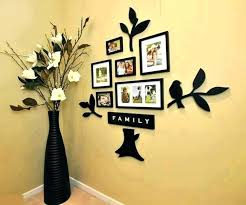 picture frame wall art ideas new family tree decor with frames