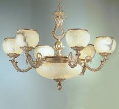 alexandria i collection 9 light large alabaster chandelier