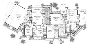 luxury house plan first floor 036d 0190 house planore