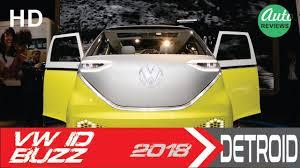 2018 volkswagen electric. exellent 2018 an electric microbus 2018 volkswagen id buzz concept detroid autoshow on volkswagen electric