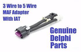 vortec wiring harness car truck parts ls1 3 wire to ls2 ls6 lq4 vortec 5 wire maf iat sensor adapter wiring