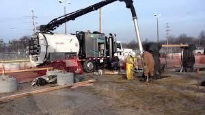 Hydro Excavator Truck Ramvac Hydro Excavation Truck In The Field Youtube