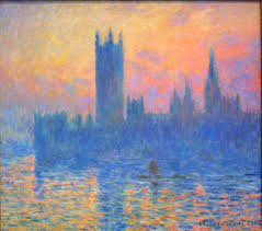 claude monet the houses of parliament at sunset 1903