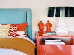 Orange And Blue Bedroom Orange And Turquoise Bedroom
