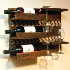 Solid Wood Wall Mounted Wine Glass Rack En Reclaimed Holder Plans. Wood  Under Cabinet Wine Glass Rack Plans Wooden Bottle And Holder Diy.