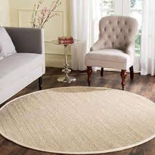 round area rug natural fiber marble beige 8 ft x 8 ft round area rug