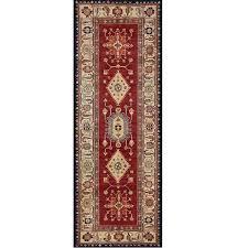 ruggable noor 2 ft 6 in x 7 ft ruby indoor outdoor