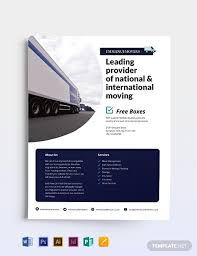 Moving Flyer Template Moving Company Flyer Template Word Psd Indesign