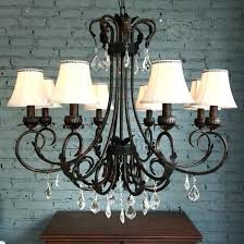 chandeliers with shades and crystals dramatic 8 light fabric shade modern crystal chandelier chandelier lamp shades chandeliers with shades