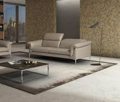 j m eden contemporary durable italian leather sofa in taupe made in italy reviews sku18325
