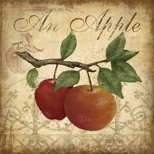 Apple Wall Decor Kitchen Aliexpresscom Buy Kitchen Decor Fruit Apple 4 Piece Canvas Wall