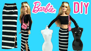 appealing diy how to make barbie doll long skirt clothes pic for popular and refashion ideas