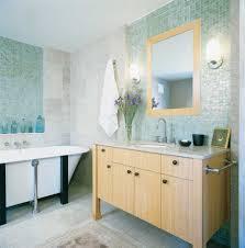 Mosaic Bathroom Wall Tiles - Glass tile bathrooms