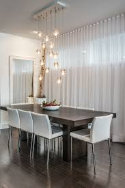 calgary chandeliers cer pendant lights dark wood dining table