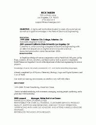 Resume Template For Internships For College Students Internship With