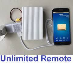 wifi garage door opener with alexa and google home smartphone app iphone android 1 of 1 see more